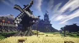 Minecraft Tutorial | Nordic Windmill - Nordische Windmühle Minecraft