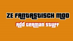 Ze Fantastisch Mod – Add traditional German items into your world [Version 1.1] More Stuff coming! Minecraft Mod