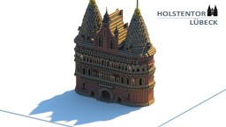 Holstentor Lübeck #WeAreConquest Minecraft Map & Project