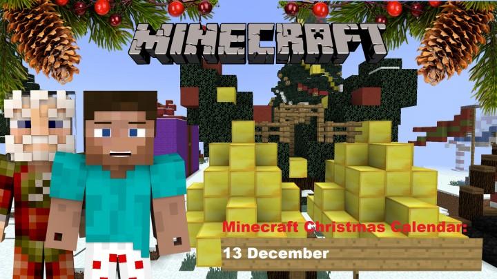 Christmas Calendar Minecraft Download : Minecraft christmas calendar december project