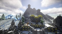 Raldbthar (Skyrim TES) full interior. Minecraft Map & Project