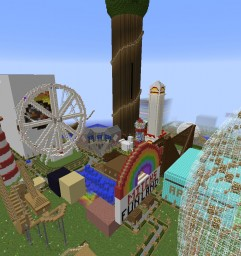 Mitch's Fun Land Minecraft Map & Project