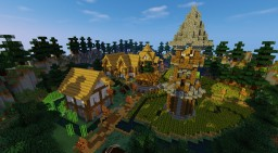 Minecraft Free Spawn [FallTown] Minecraft Map & Project