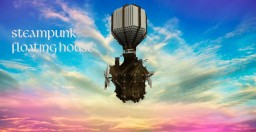 Steampunk Floating House Minecraft Map & Project