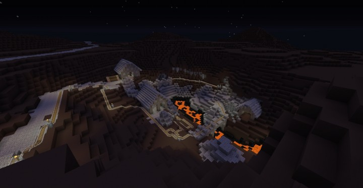 I figured the land of Mordor would have lots of mines to fuel Saurons armies.