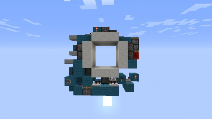 3x3 door minecraft project for Porte 3x3 minecraft