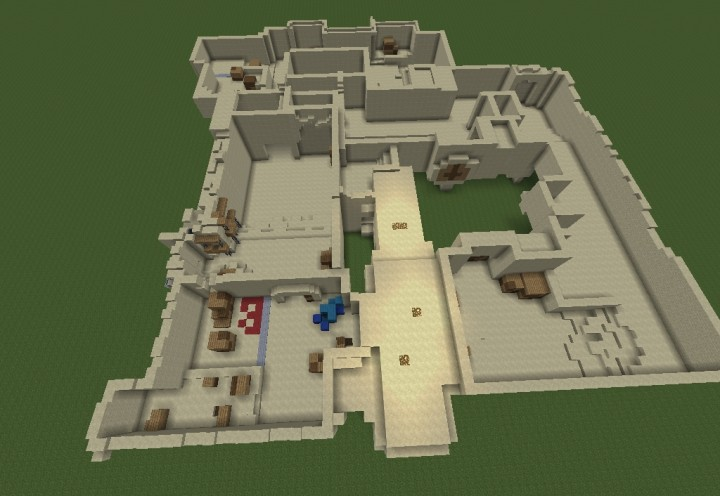 Counter-Strike Dust II Map -UPDATED Minecraft Project on