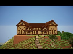 TimeLapse Mansion to decorate Minecraft Map & Project