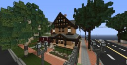 Late 1800's Tudor home Minecraft Project