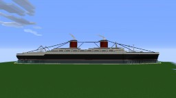S.S. United States Minecraft Map & Project
