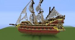 Dizhnossian Small Warship ( Carivelle ) Minecraft Map & Project