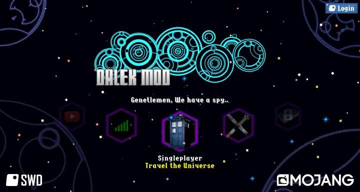 Dalek Mod Title