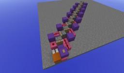 Sideways conveyor belt using 1.9 piston mechanics Minecraft Map & Project
