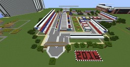 F1 Track (Own Design) Minecraft Project