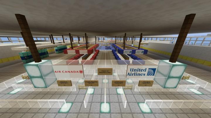 International Terminal- Check in