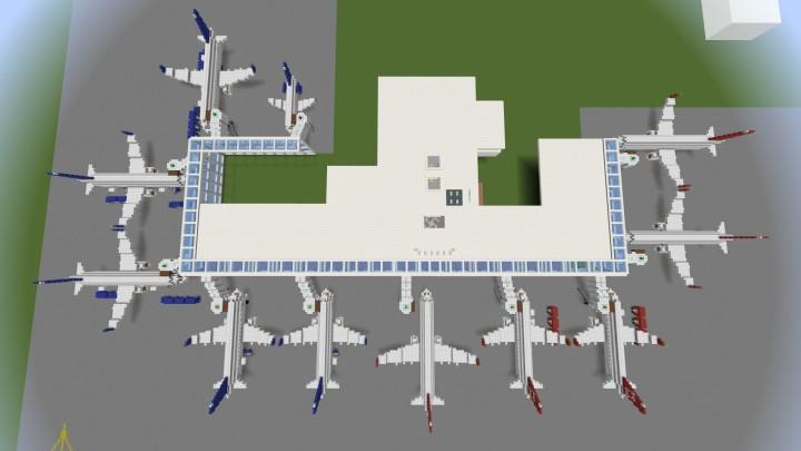 Internation Terminal- Overhead --Work in progress