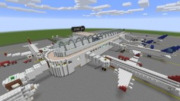 Hyperspeed International Airport Minecraft Map & Project