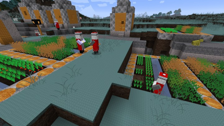 Toadcraft v17 161718 minecraft texture pack merry villagers in winter sonata patch sciox Images