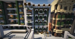 Milton Hotel and Bar Minecraft Map & Project