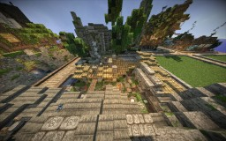 Minecraft-Small Mayan village (w/ video review) Minecraft Map & Project