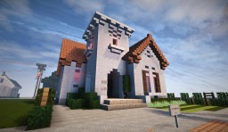 Spanish Bungalow Minecraft Map & Project