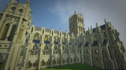 Washington National Cathedral - Build in Minecraft Minecraft Map & Project