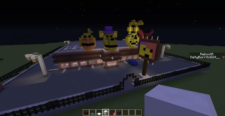Fredbear's Family Diner-FNAF Minecraft Project
