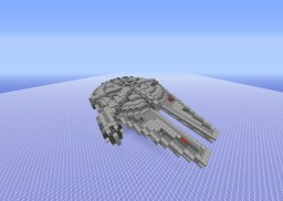 The Millennium Falcon [Exact Interior/Exterior Layout] Replica Minecraft