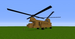 Helicopter Package #1 - Vietnam Collection Set; 4 BUILDS INCLUDED! | 1:1 Scale Minecraft Map & Project