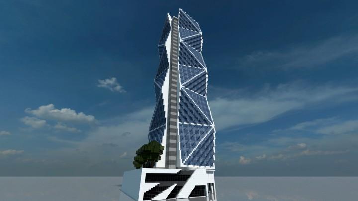 skyscraper 21 minecraft project