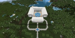 Modern house beach Minecraft Map & Project