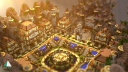 Hub par Alkapule [CINEMATIC] Minecraft Map & Project