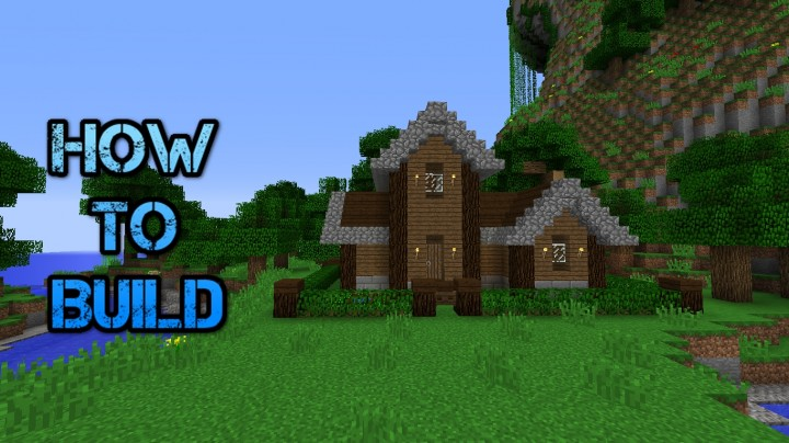 How to build survival house minecraft blog for Most economical house to build