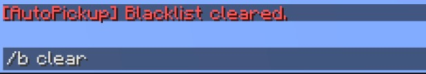 how to clear certain items with minecraft clear
