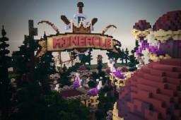 Mysterio - Factions spawn Minecraft Map & Project