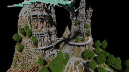 Medieval/fantasy castle( world download) Minecraft