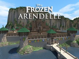 Disney's FROZEN - Arendelle [THE WHOLE FROZEN WORLD] Minecraft Map & Project