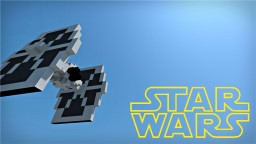 TIE Fighter | Star Wars Minecraft Map & Project