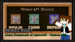 Learn Commands Of Minecraft [1.9][V.2.2] ~ thvardhan Minecraft Project