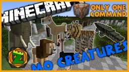 Animals+ in One Command l 14 New Mo Creatures Mobs! l Vanilla 1.9 Minecraft Map & Project