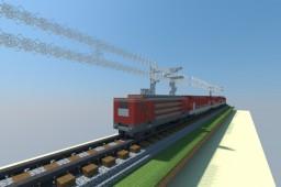 DB double-decker train Minecraft Map & Project