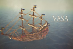 Royal Ship Vasa - Full Recreation Minecraft Project