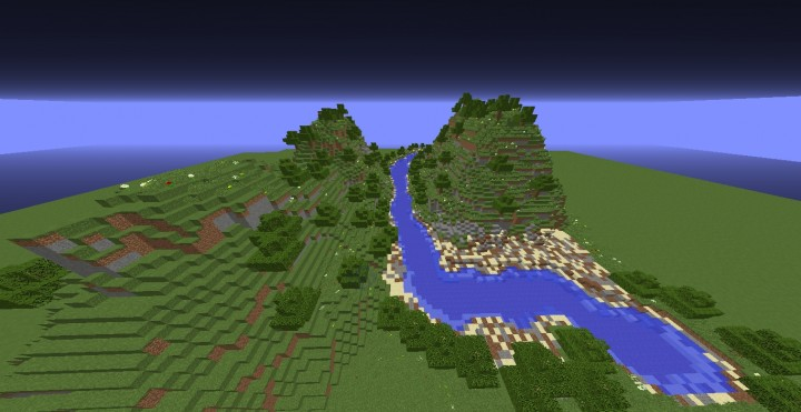 f181a7005 Minecraft Terraform - Small River Landscape Minecraft Project