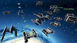 TIE Fighter/ Bomber Pack #2 STAR WARS Minecraft Map & Project