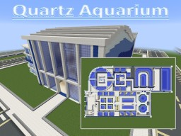 Quartz Aquarium ( Complete Interior ) Minecraft Map & Project