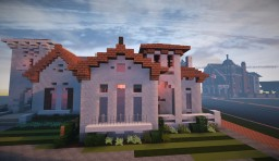 Spanish Bungalow 2 Minecraft Map & Project