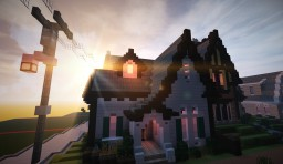 English Eclectic cottage Minecraft Map & Project