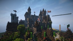 Medieval castle #WeAreConquest Minecraft