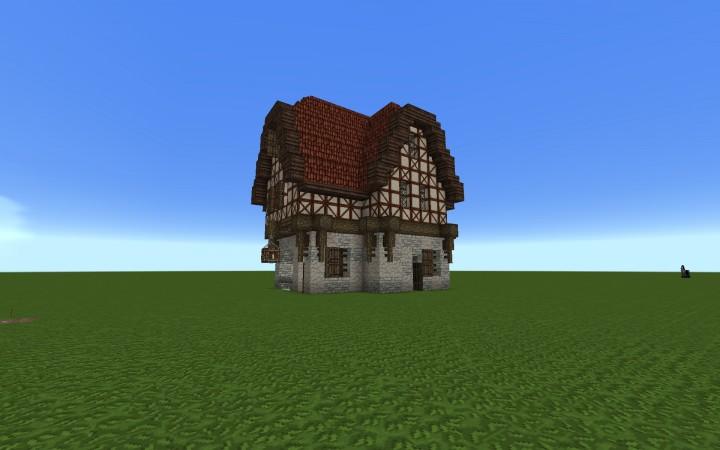German Based Medieval House Minecraft Map