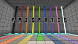 Prismatic - A colour based puzzle adventure by Mental Block Gaming [Puzzle Map] [Colourblind-friendly] [10,000+ Downloads] Minecraft